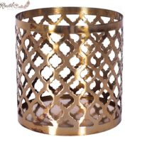 Golden Mughlai Candle Votive
