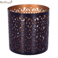 Black Moroccan Candle Votive