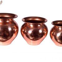 Set of 3 lota / Kalash