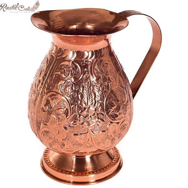 Copper Carving Jug 2.25 LTR