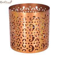 Copper Moroccan Candle Votive