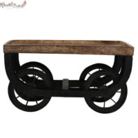 Wooden Serving Cart